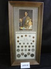 The 20th Century Collection, types of U.S. coins minted from 1900 to 1973