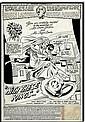 1979 DON HECK GREEN LANTERN #122 SPLASH PAGE