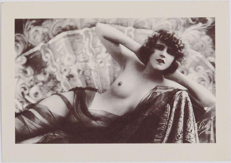 Vintage Nude Postcard 67