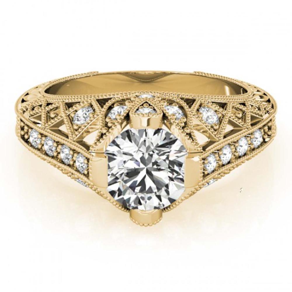 1.25 ctw VS/SI Diamond Ring 18K Yellow Gold - REF-288W2H - SKU:27314