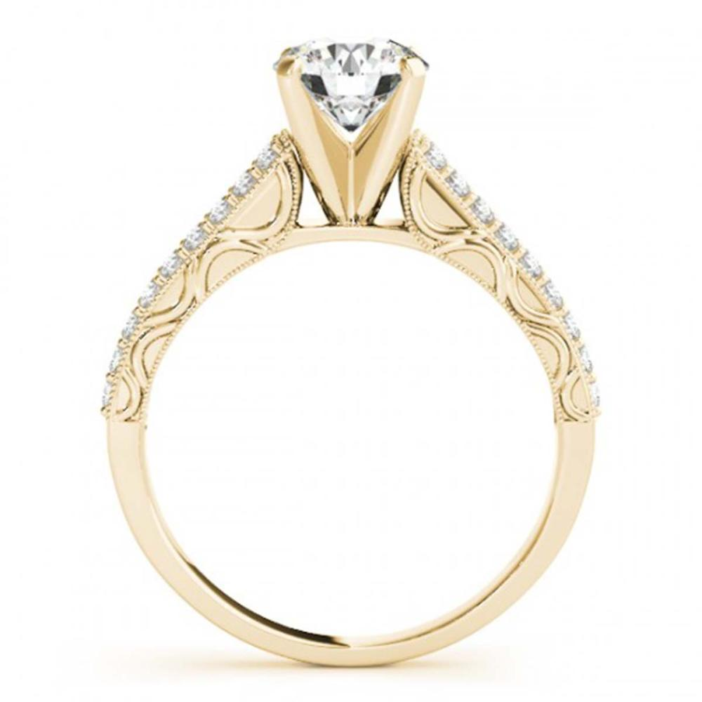Lot 5059: 1.41 ctw VS/SI Diamond Ring 18K Yellow Gold - REF-295F3N - SKU:27320