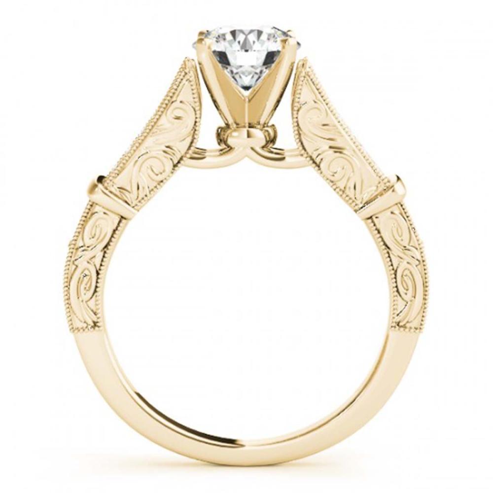 Lot 5130: 1.25 ctw VS/SI Diamond Ring 18K Yellow Gold - REF-291A5V - SKU:27296