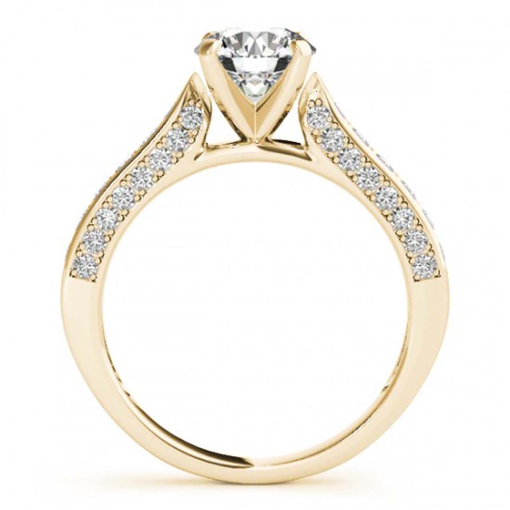 Lot 5152: 1.35 ctw VS/SI Diamond Ring 18K Yellow Gold - REF-169K4W - SKU:27524