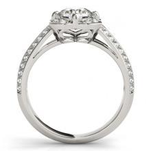 Lot 5159: 2.05 ctw VS/SI Diamond Halo Ring 18K White Gold - REF-538W2H - SKU:26913