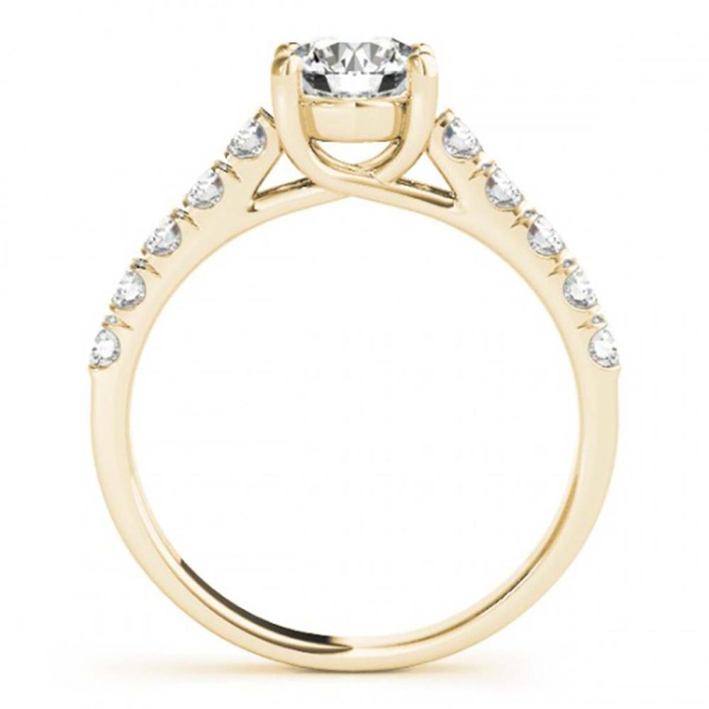 Lot 5200: 1.05 ctw VS/SI Diamond Ring 18K Yellow Gold - REF-147A2V - SKU:28130
