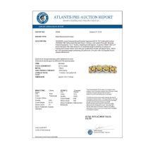 Lot 5022: 29.14 ctw Canary Citrine & VS Diamond Bracelet 18K Yellow Gold - REF-594K5W - SKU:38699
