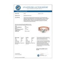 Lot 5086: 1.15 ctw VS/SI Diamond Ring 18K Rose Gold - REF-153N7A - SKU:27856
