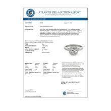 Lot 5111: 1.25 ctw VS/SI Diamond Halo Ring 18K White Gold - REF-170W3H - SKU:26919