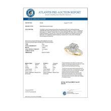 Lot 5150: 2.25 ctw VS/SI Diamond Halo Ring 18K Yellow Gold - REF-334H2M - SKU:26268