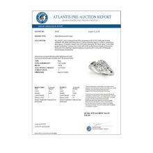 Lot 5181: 1.25 ctw VS/SI Diamond Solitaire Halo Ring 18K White Gold - REF-277K3W - SKU:26857
