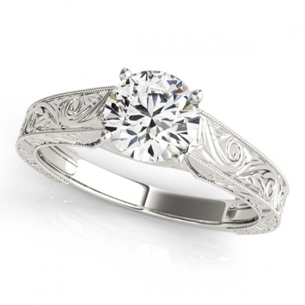 1.50 ctw VS/SI Diamond Ring 18K White Gold - REF-492N2A - SKU:27813