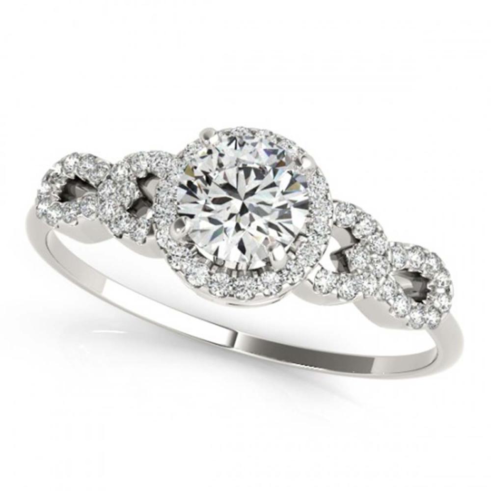 1.33 ctw VS/SI Diamond Ring 18K White Gold - REF-275Y6X - SKU:27963