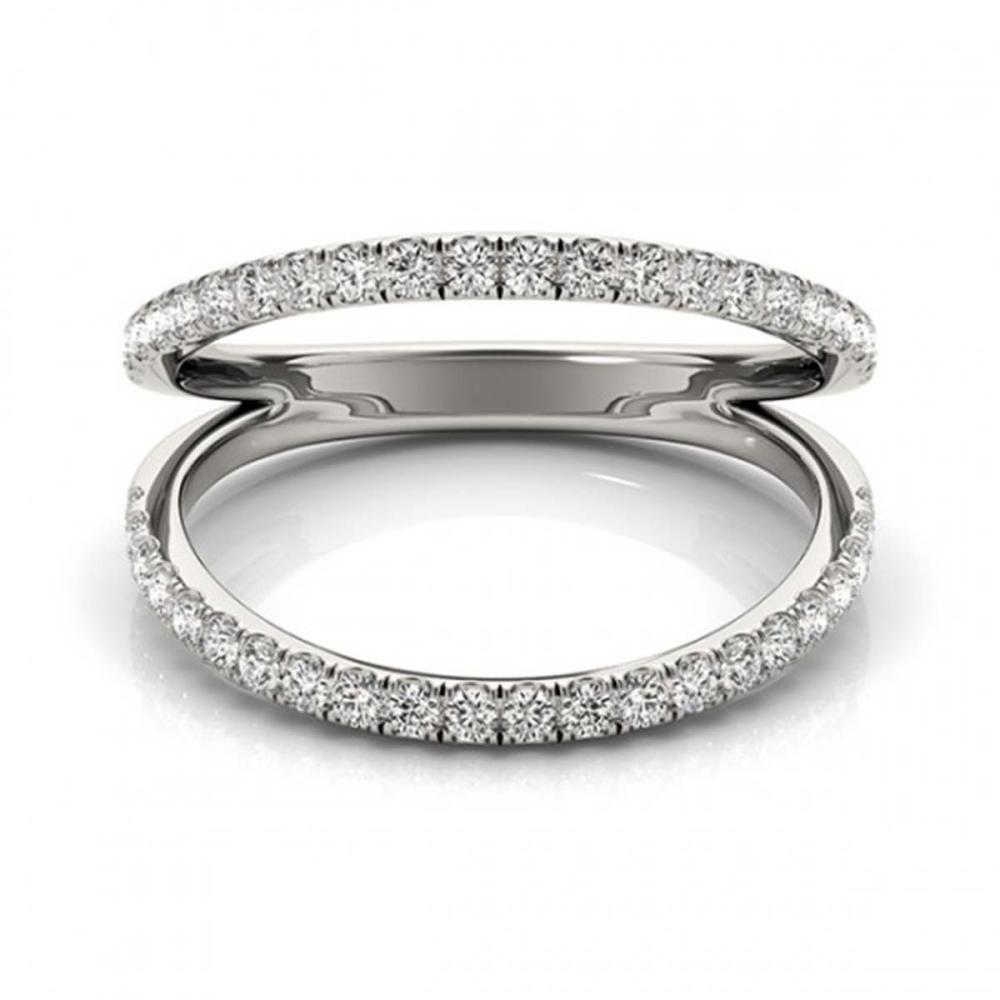 0.33 ctw VS/SI Diamond Fashion Ring 18K White Gold - REF-45M5F - SKU:28271