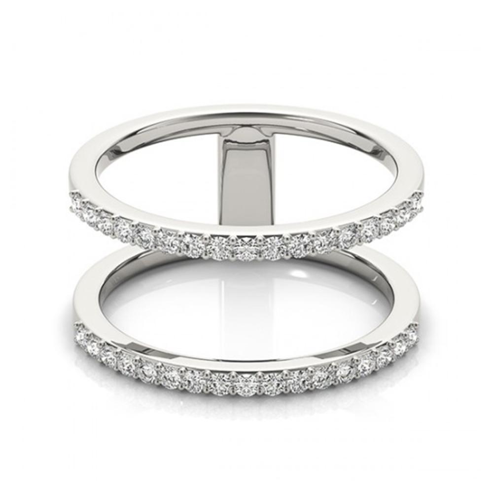 0.50 ctw VS/SI Diamond Fashion Ring 18K White Gold - REF-49R2K - SKU:28289