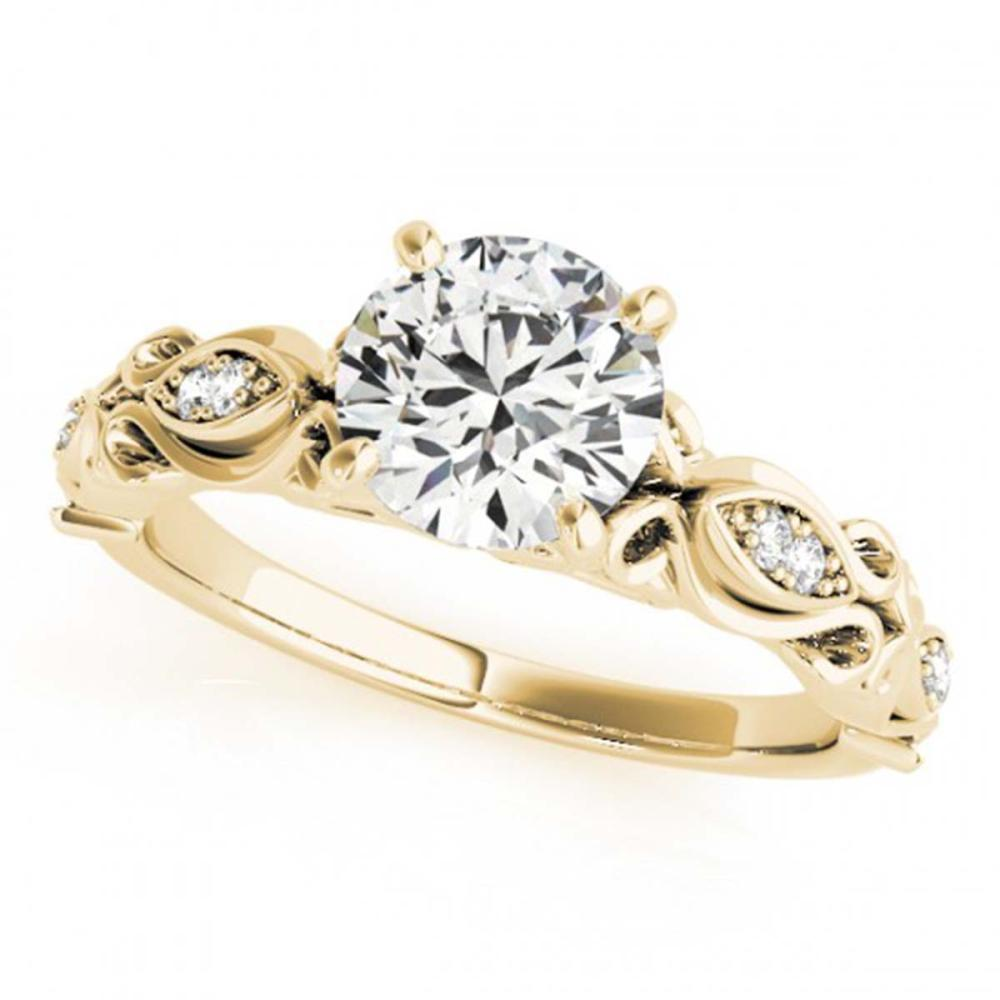 1.10 ctw VS/SI Diamond Ring 18K Yellow Gold - REF-278K5W - SKU:27275
