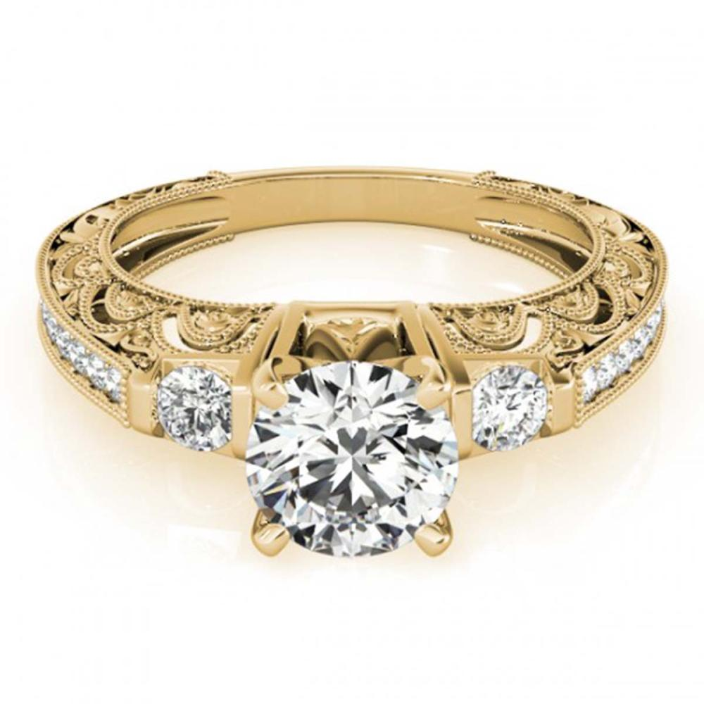 1.15 ctw VS/SI Diamond Ring 18K Yellow Gold - REF-168H5M - SKU:27281
