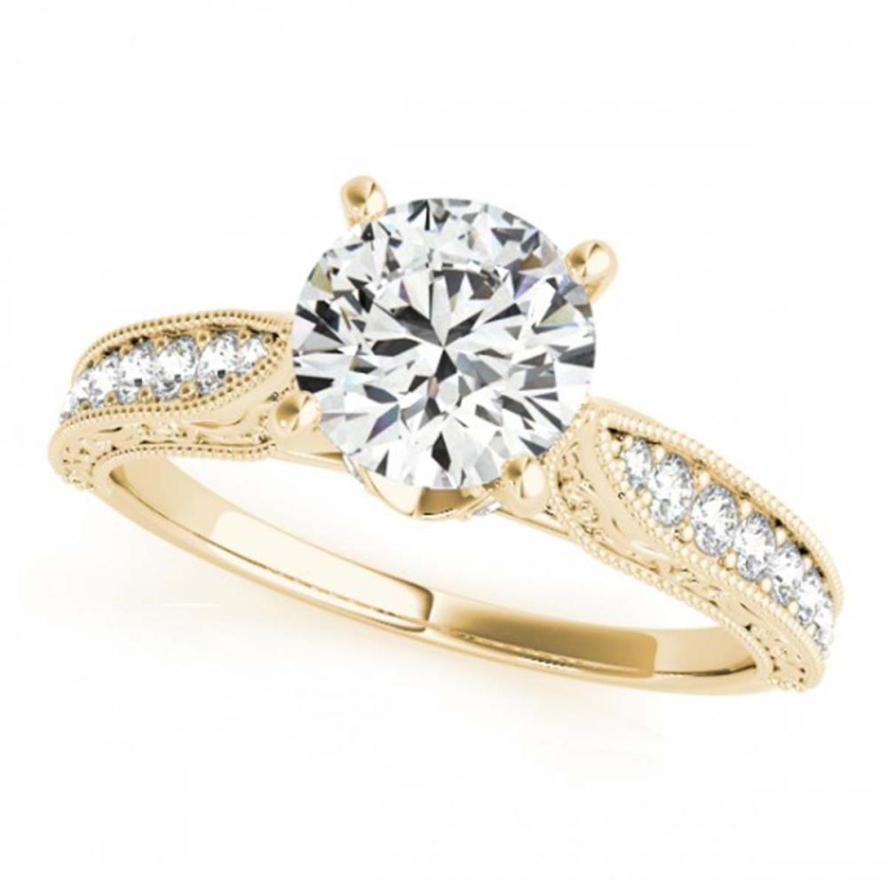 1.21 ctw VS/SI Diamond Ring 18K Yellow Gold - REF-282K5W - SKU:27359