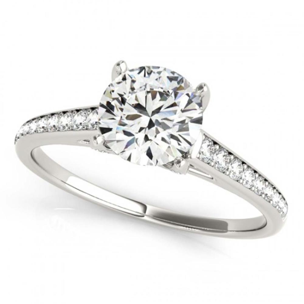 1.50 ctw VS/SI Diamond Ring 18K White Gold - REF-295N6A - SKU:27462