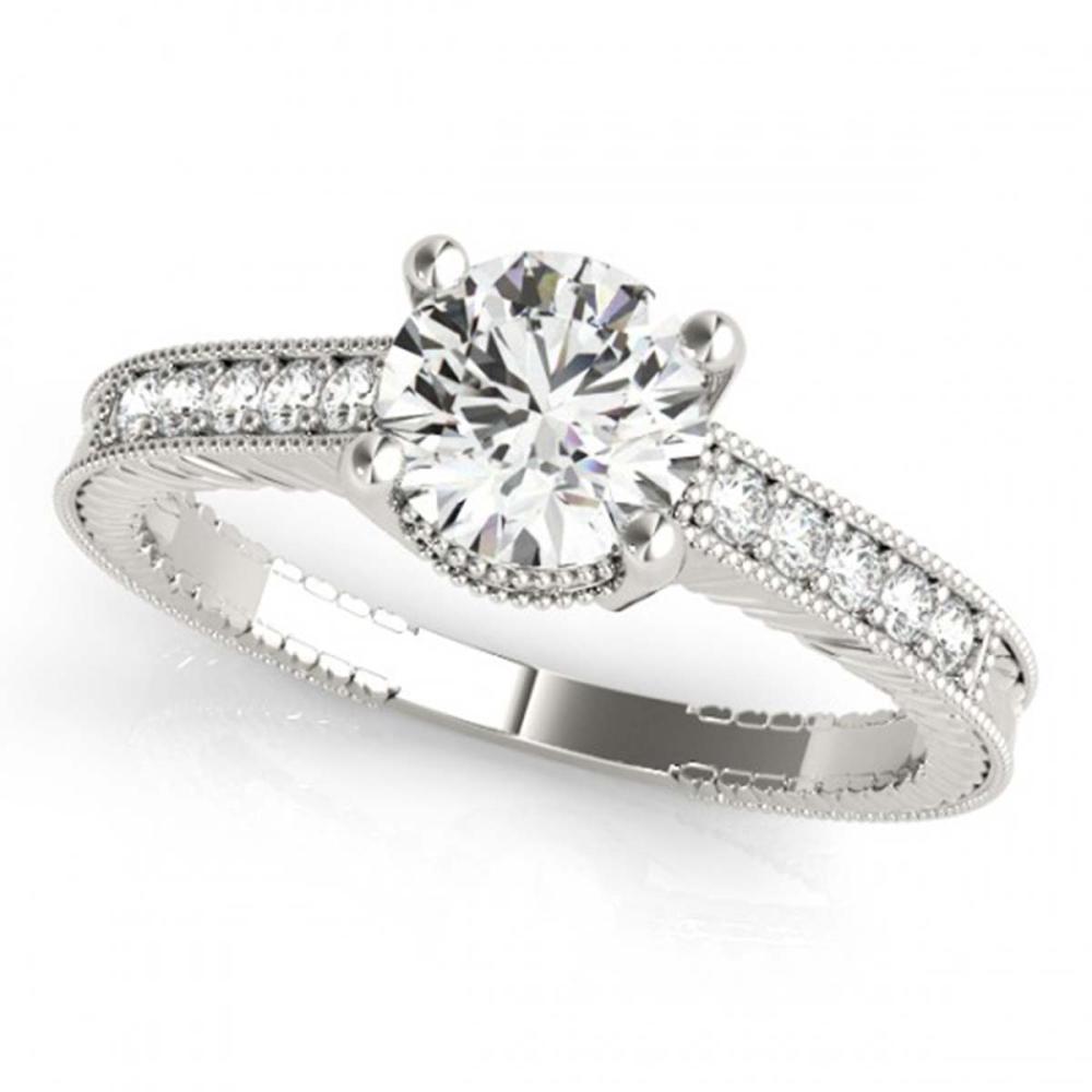 1.20 ctw VS/SI Diamond Ring 18K White Gold - REF-277V8Y - SKU:27390