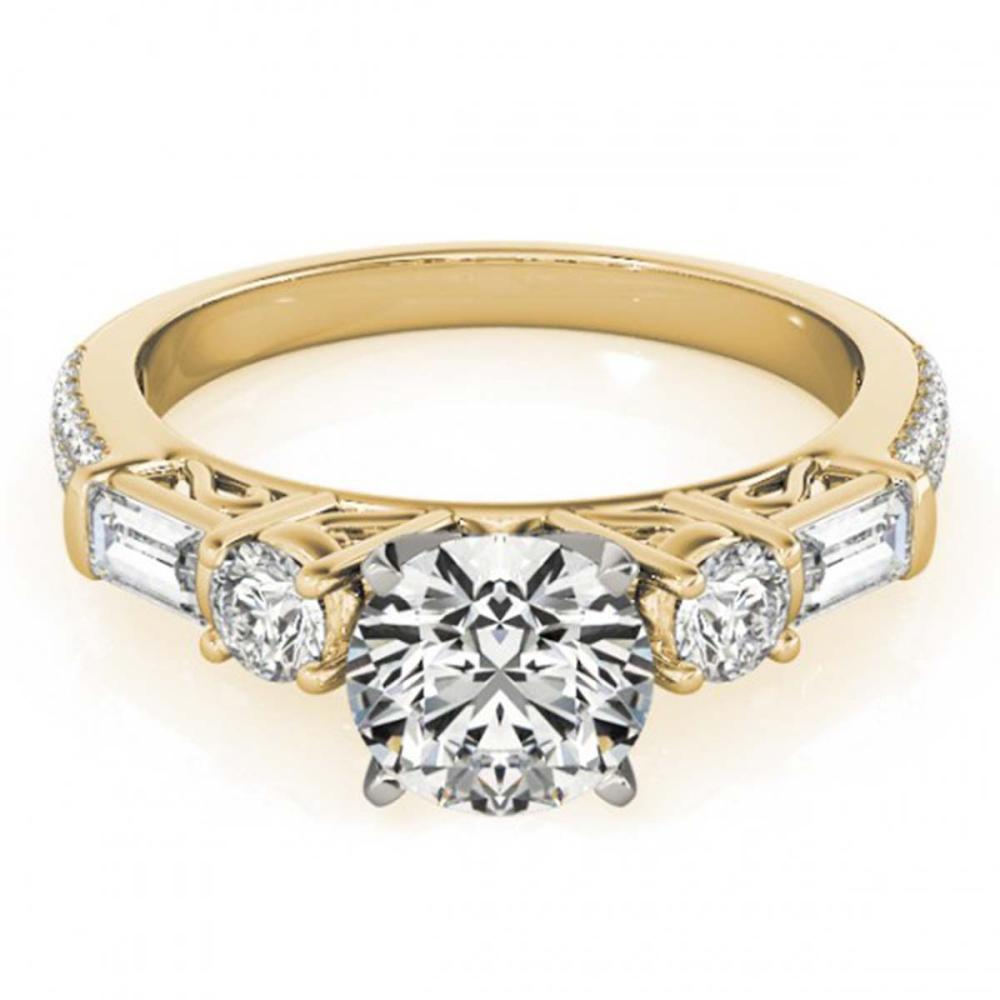 2.5 ctw VS/SI Diamond Ring 18K Yellow Gold - REF-557W2H - SKU:28112