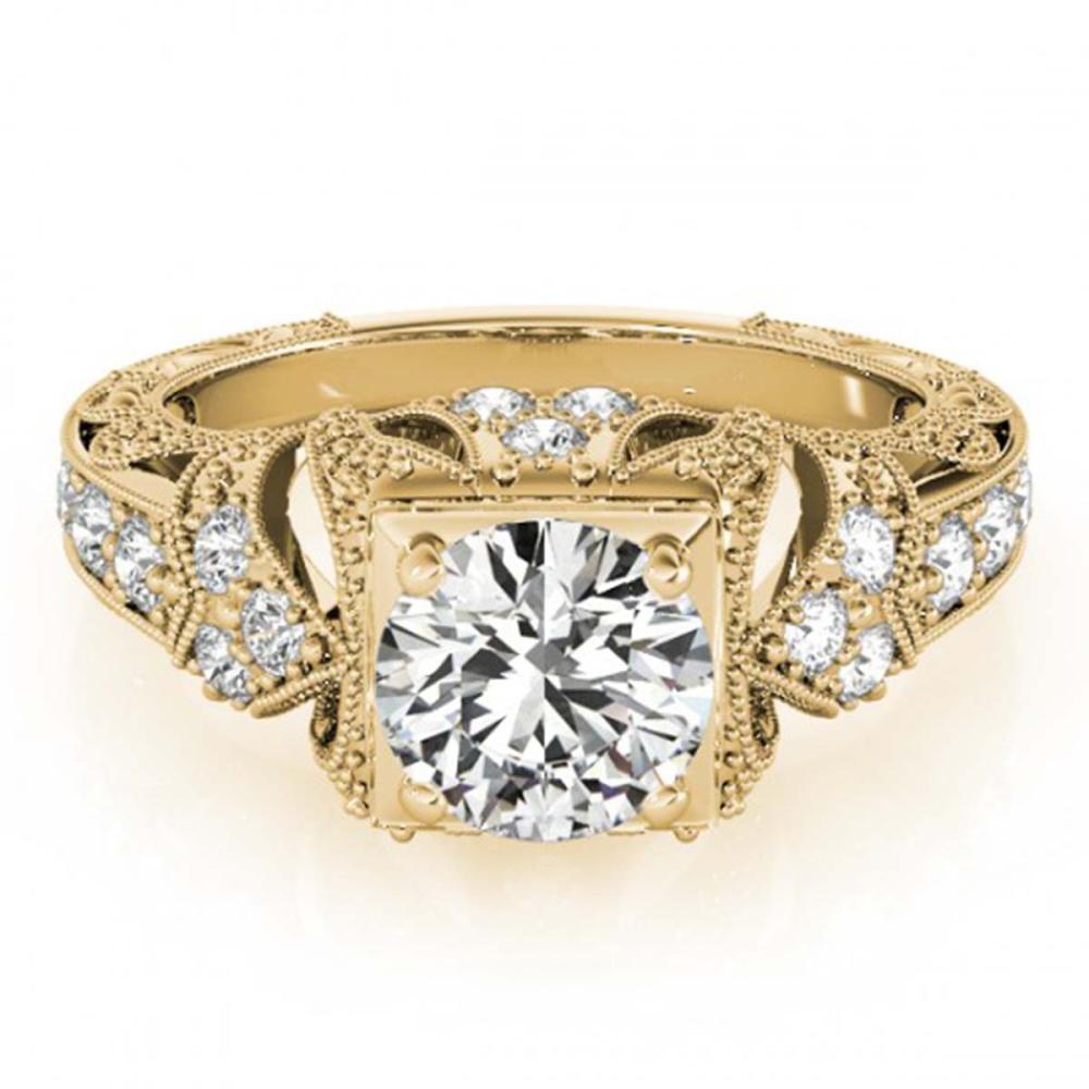 1.25 ctw VS/SI Diamond Ring 18K Yellow Gold - REF-299N6A - SKU:27299