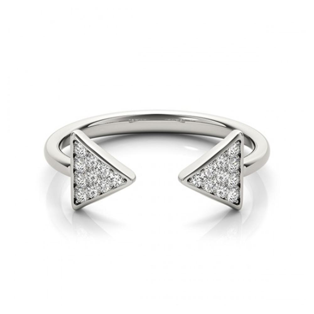 0.25 ctw VS/SI Diamond Fashion Ring 18K White Gold - REF-36W7H - SKU:28301
