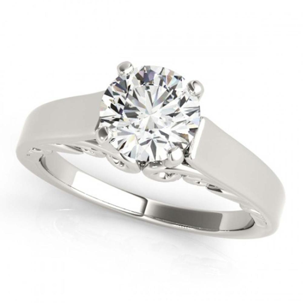 1 ctw VS/SI Diamond Ring 18K White Gold - REF-274H2M - SKU:27783