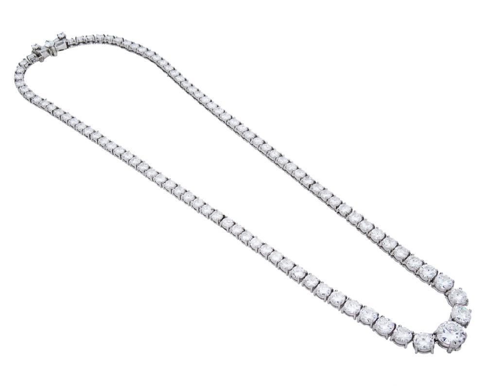 diamond necklace  van cleef  u0026 arpels  new york  1966