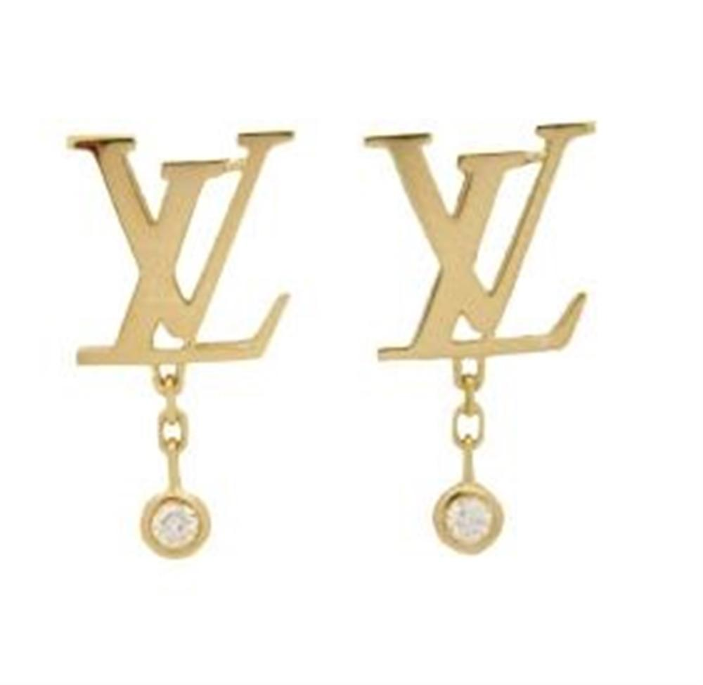 LOUIS VUITTON 18K IDYLLE BLOSSOM  EARRINGS