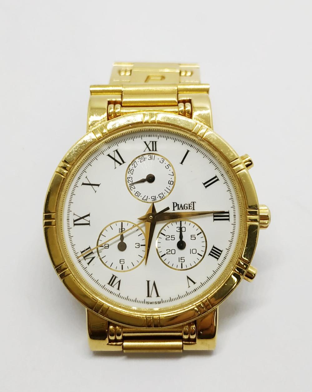 An 18 Karat Yellow Gold Haute Complication Wristwatch, Piage