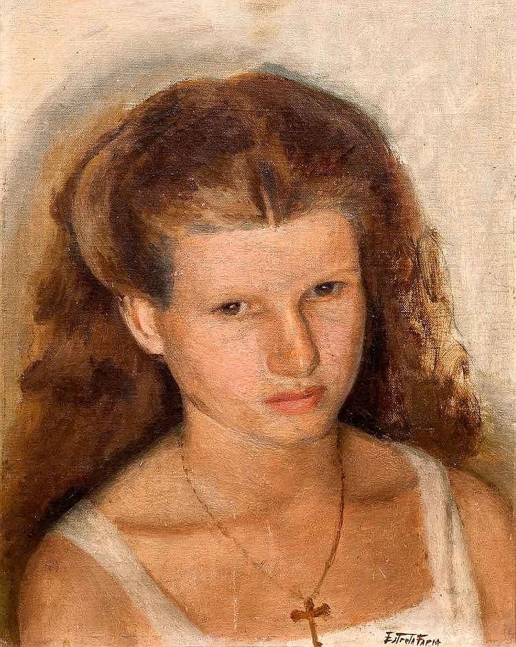 ESTRELA FARIA (1910-1976), FEMININ PORTRAIT