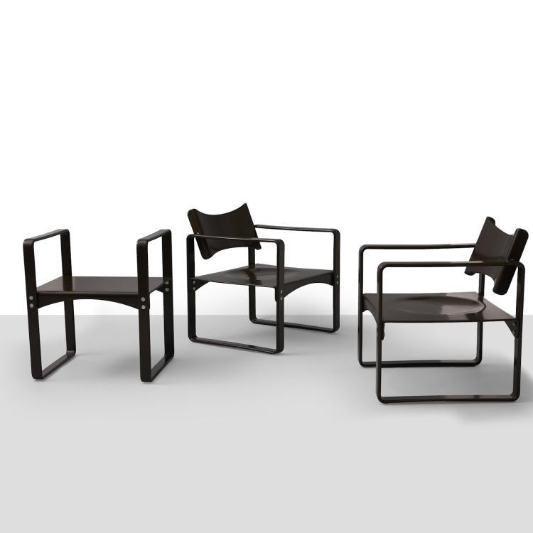 verner panton chairs and table set. Black Bedroom Furniture Sets. Home Design Ideas