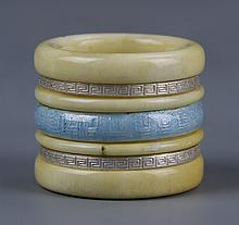 Chinese Ivory Thumb Ring