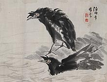 Chinese Painting Of Two Birds