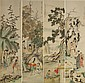 Four Chinese Scroll Painting, Chen Shao Mei