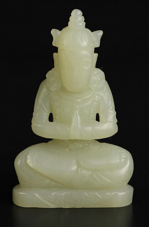 Chinese Jade Buddha