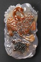 Chinese Carved Agate Pendant