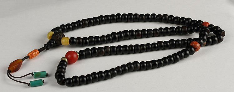 Chinese Zitan Prayer Beads