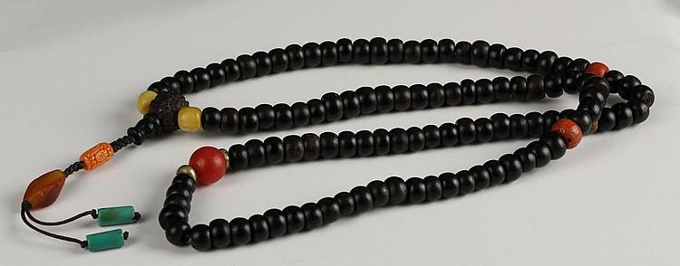 Chinese Zitan Prayer Beads