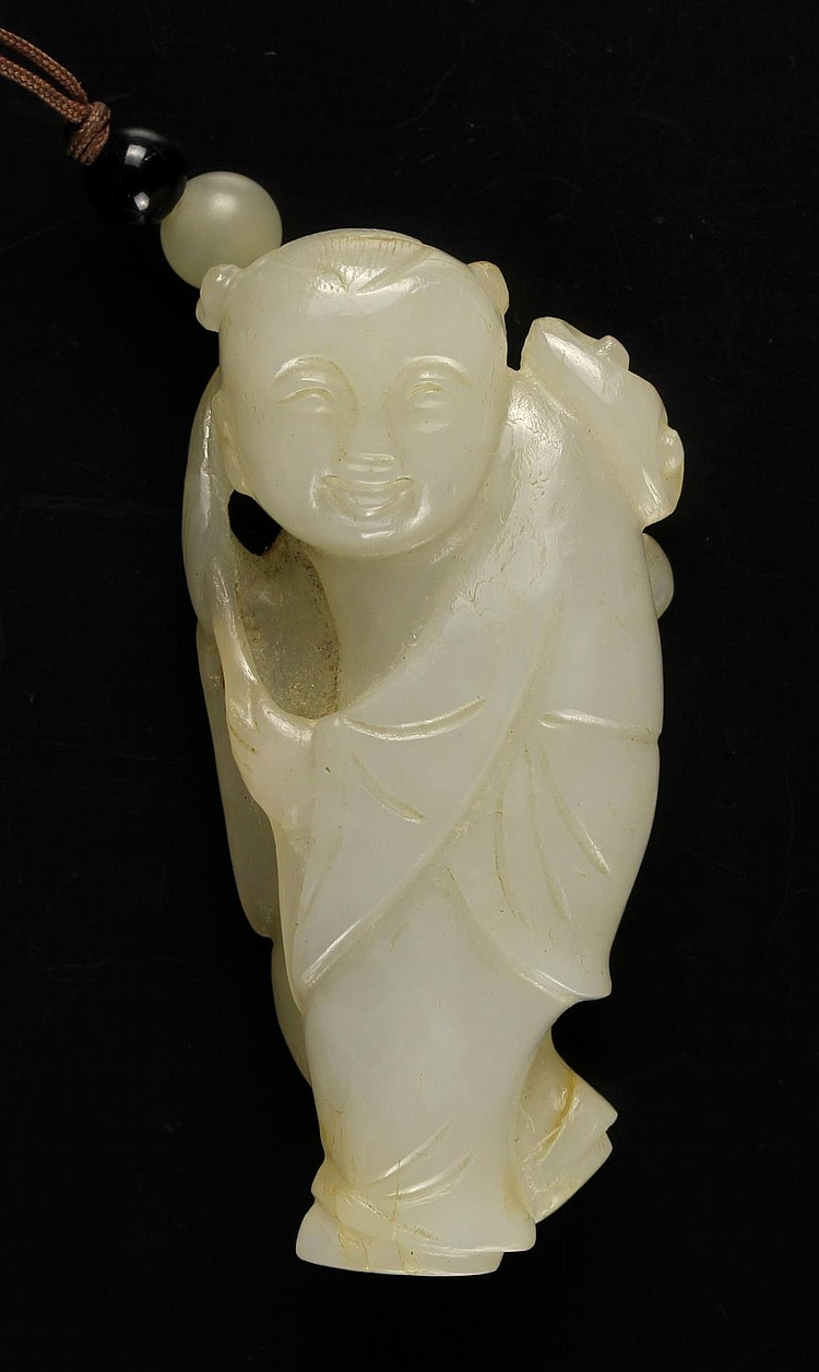 Chinese Carved Jade Figurine