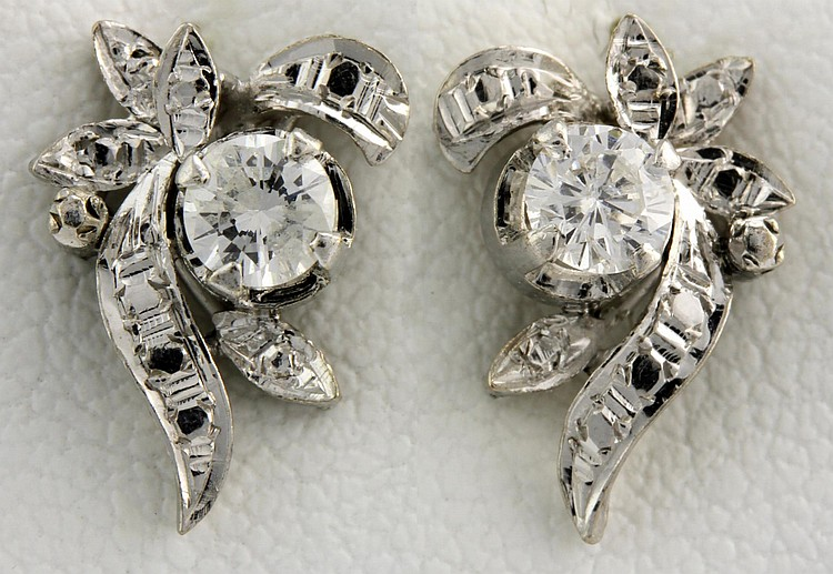 Pair of Chinese Diamonds