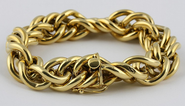 Gold Cartier Bracelet