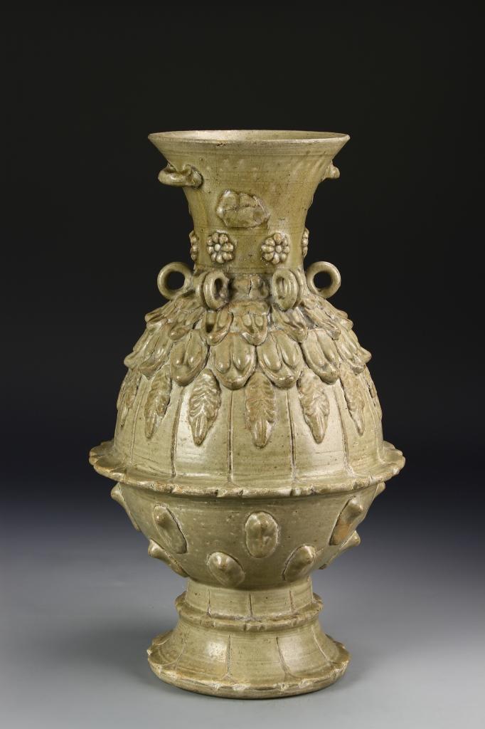 Chinese Antique Celadon Glazed Vase