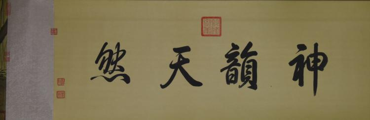 Chinese Hand Scroll of Birds and Flowers