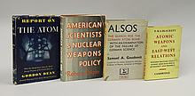 Four 1st Edition Books on Atomic Energy