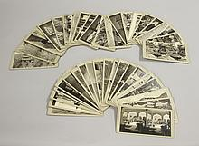 Forty Stereo View Cards of Asian Scenes