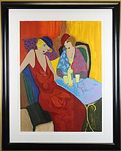 Itzchak Tarkay (American b.1938) Untitled
