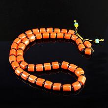Chinese Coral Necklace