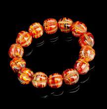 Chinese Agate Bracelet