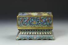 Chinese Cloisonne Box